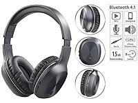 auvisio Over-Ear-Headset mit Bluetooth 4.1 & Active Noise Cancelling bis 15 dB