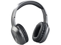 auvisio Over-Ear-Headset, Bluetooth, MP3, FM & Auto Connect, microSD bis 64 GB