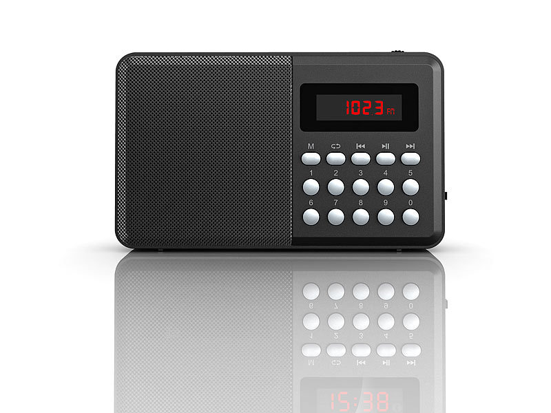 auvisio fm taschenradio bluetooth mp3 player display. Black Bedroom Furniture Sets. Home Design Ideas